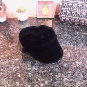 New Black Velvet Nine West Hat